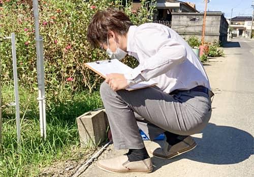 敷地環境調査のイメージ