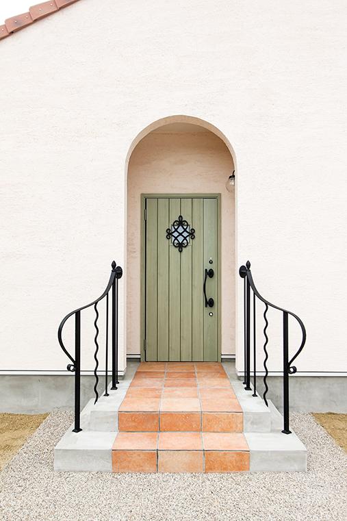 玄関アプローチのイメージ