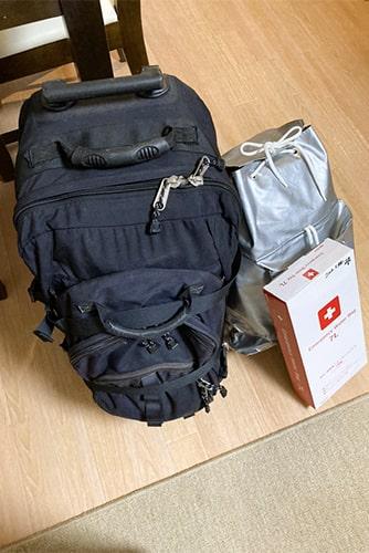 防災バッグのイメージ